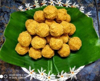 Besan Ki Laddoo - Plattershare - Recipes, Food Stories And Food Enthusiasts