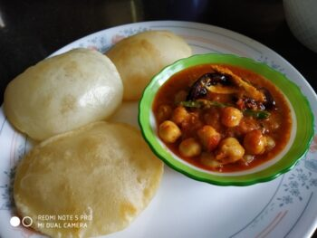 How To Make Easy Bhaturey At Home - Plattershare - Recipes, Food Stories And Food Enthusiasts