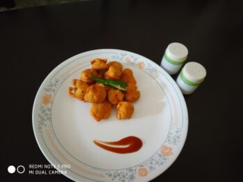 Tasty Snacks With Moong Pakoda - Plattershare - Recipes, Food Stories And Food Enthusiasts