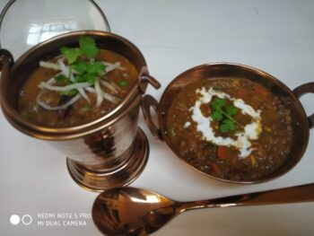 Whole Masoor Dal In Bengali Style - Plattershare - Recipes, Food Stories And Food Enthusiasts