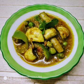 Mushroom Mixed Veg - Plattershare - Recipes, Food Stories And Food Enthusiasts