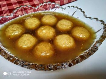 Nalen Gurer Rasogolla - Plattershare - Recipes, Food Stories And Food Enthusiasts