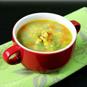 Sweet Corn Soup - Plattershare - Recipes, Food Stories And Food Enthusiasts