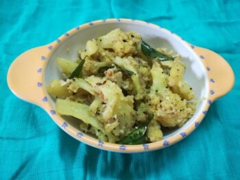Cauliflower Pepper Fry Recipe – How To Make Cauliflower Pepper Fry Recipe - Plattershare - Recipes, Food Stories And Food Enthusiasts