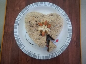 Homemade Eggless Chocolate Cake Recipe – Dalgona Coffee Frosting - Plattershare - Recipes, Food Stories And Food Enthusiasts