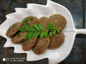 Idly With Bajra Flour - Plattershare - Recipes, Food Stories And Food Enthusiasts