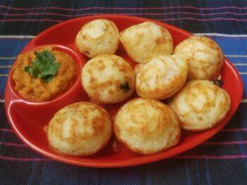 Vegetable Paniyaram Recipe| Kuzhi Paniyaram Recipe | Gunta Ponganalu - Plattershare - Recipes, Food Stories And Food Enthusiasts