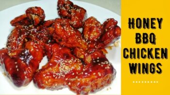 Juicy Honey Bbq Chicken Wings Recipe - Plattershare - Recipes, Food Stories And Food Enthusiasts