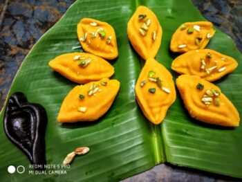 Nalen Guder Sandesh - Plattershare - Recipes, Food Stories And Food Enthusiasts