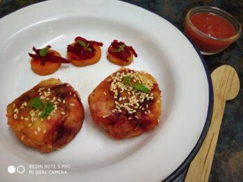 Veg Potato Tikki - Plattershare - Recipes, Food Stories And Food Enthusiasts
