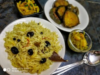 Veg Pulao - Plattershare - Recipes, Food Stories And Food Enthusiasts