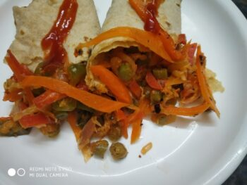 Breakfast With Leftover Chapati - Plattershare - Recipes, Food Stories And Food Enthusiasts