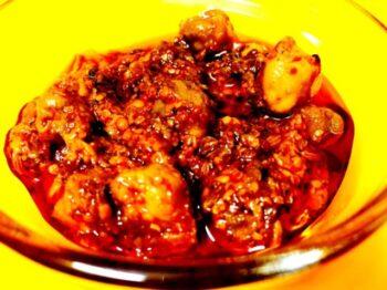 Marwari Chickpeas Raw Mango Pickle (Keri Chane Ka Achaar) - Plattershare - Recipes, Food Stories And Food Enthusiasts