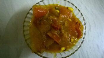 Tarbooz Ke Chilke Ki Sabzi / Watermelon Rind Curry - Plattershare - Recipes, Food Stories And Food Enthusiasts