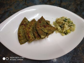 Cauliflower Paratha - Plattershare - Recipes, Food Stories And Food Enthusiasts