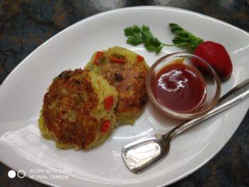Veg Tikki - Plattershare - Recipes, Food Stories And Food Enthusiasts