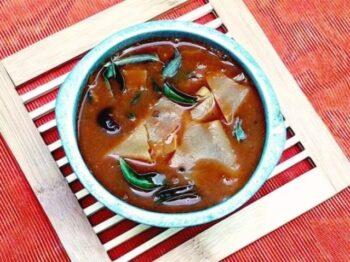 Pappad Tangy Spicy Gravy (Appalam Vatha Kuzhambu) - Plattershare - Recipes, Food Stories And Food Enthusiasts