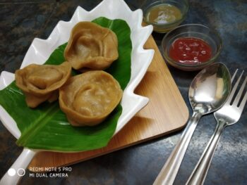 Momos With Bajra - Plattershare - Recipes, Food Stories And Food Enthusiasts