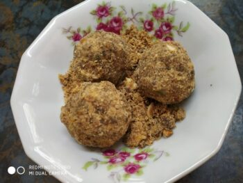 Millet Laddoo - Plattershare - Recipes, Food Stories And Food Enthusiasts