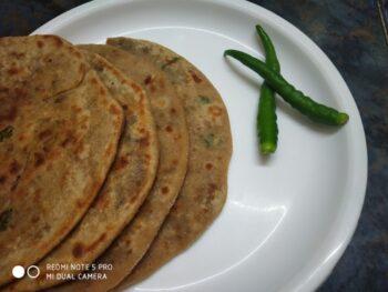 Raw Banana Paratha - Plattershare - Recipes, Food Stories And Food Enthusiasts