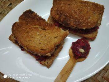 Tanduri Veggies Bread - Plattershare - Recipes, Food Stories And Food Enthusiasts