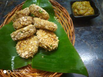 Arbi Tikki (Colocasia) - Plattershare - Recipes, Food Stories And Food Enthusiasts