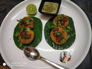 White Matar Chaat - Plattershare - Recipes, Food Stories And Food Enthusiasts