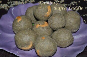Kambu / Pearl Millet / Bajra Laddu - Plattershare - Recipes, Food Stories And Food Enthusiasts