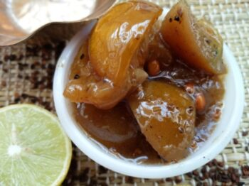 50 -50 Sweet Lime Pickle - Plattershare - Recipes, Food Stories And Food Enthusiasts