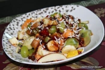 Fruit Salad With Honey, Lime &Amp; Chocolate - Plattershare - Recipes, Food Stories And Food Enthusiasts