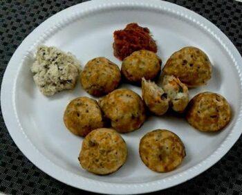 Instant Wheat Flour Kuzhi Paniyaram - Plattershare - Recipes, Food Stories And Food Enthusiasts