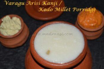 Varagu Arisi Kanji / Kodo Millet Porridge - Plattershare - Recipes, Food Stories And Food Enthusiasts