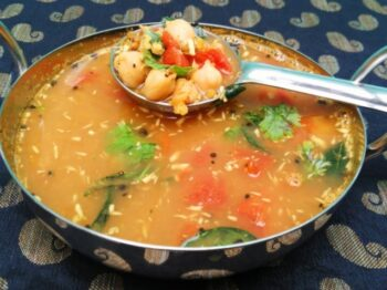 Sundal Rasam (Mixed Pulses Soup) - Plattershare - Recipes, Food Stories And Food Enthusiasts