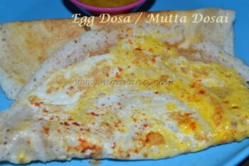 Egg Dosa/Mutta Dosai - I - Plattershare - Recipes, Food Stories And Food Enthusiasts