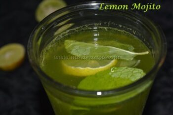 Lemon Mint Mojito - Plattershare - Recipes, Food Stories And Food Enthusiasts