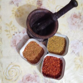 Mortar Grind Masala - Plattershare - Recipes, Food Stories And Food Enthusiasts