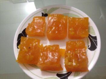 Karachi Halwa Or The Custard Halwa - Plattershare - Recipes, Food Stories And Food Enthusiasts