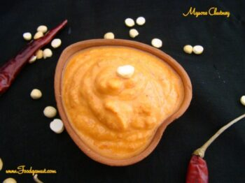 Mysore Chutney - Plattershare - Recipes, Food Stories And Food Enthusiasts