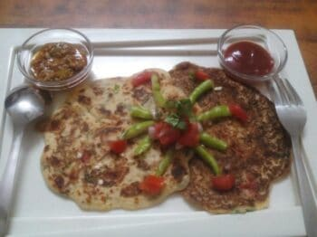 Cottage Cheese &Amp; Rice-Moong Dal Chilla - Plattershare - Recipes, Food Stories And Food Enthusiasts