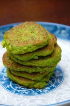 Green Pea Pancakes - Plattershare - Recipes, Food Stories And Food Enthusiasts