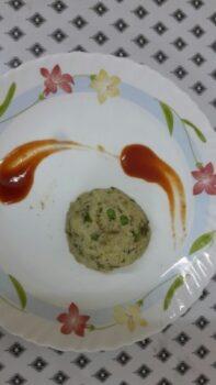 Pesto Upma - Plattershare - Recipes, Food Stories And Food Enthusiasts