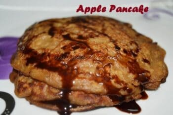 Apple Pancake - Plattershare - Recipes, Food Stories And Food Enthusiasts