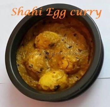 Shahi Egg Curry - Plattershare - Recipes, Food Stories And Food Enthusiasts