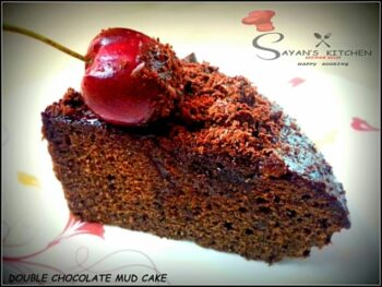 Double Chocolate Mud Cake - Plattershare - Recipes, Food Stories And Food Enthusiasts
