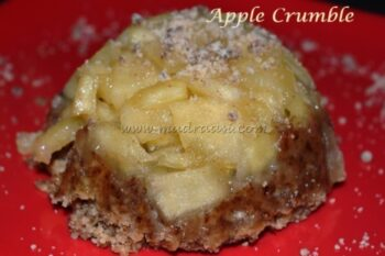 Apple Crumble - Plattershare - Recipes, Food Stories And Food Enthusiasts