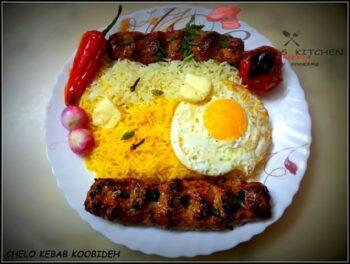 Chelo Kebab Koobideh - Plattershare - Recipes, Food Stories And Food Enthusiasts