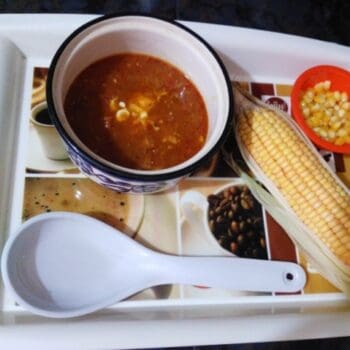 Burmese Style Corn Soup - Plattershare - Recipes, Food Stories And Food Enthusiasts