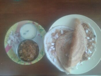 Bhaji Dosa - Plattershare - Recipes, Food Stories And Food Enthusiasts
