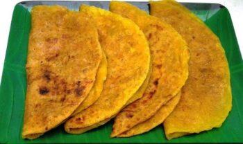 Thengai Poli (Coconut Pooran Poli) - Plattershare - Recipes, Food Stories And Food Enthusiasts
