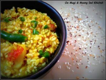 Oo Mugi &Amp; Moong Dal Khichdi - Plattershare - Recipes, Food Stories And Food Enthusiasts